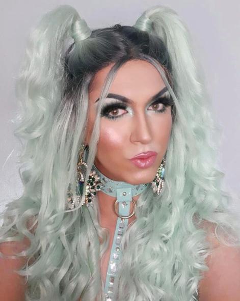 A artista drag queen Kera Nix