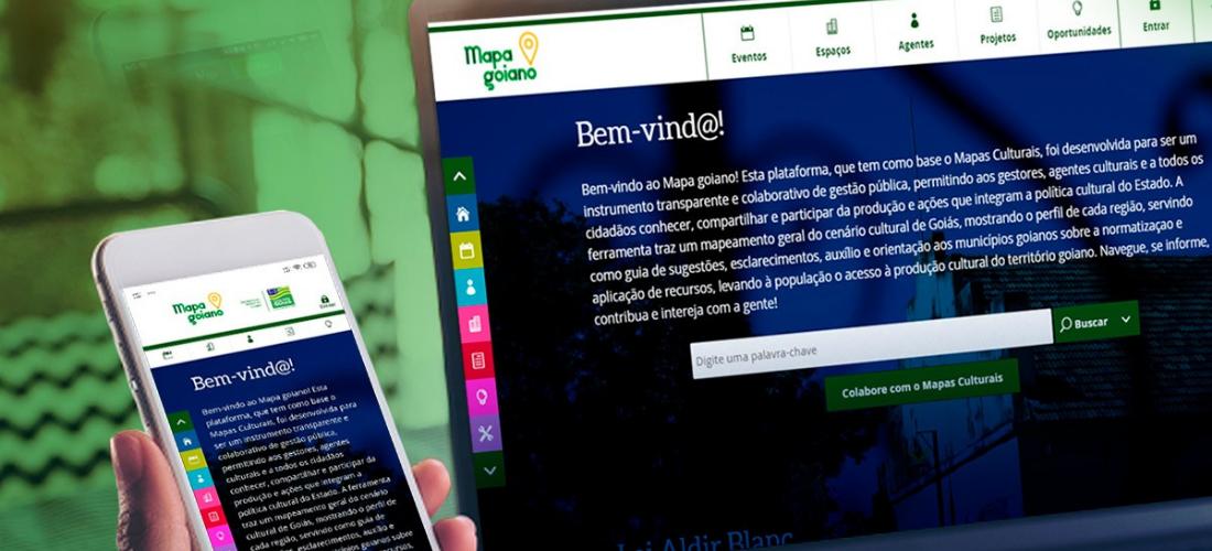 Governo de Goiás lança plataforma Mapa Goiano de Cultura