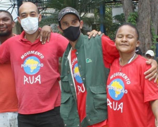 Movimento População de Rua GO faz uma convocação solidária