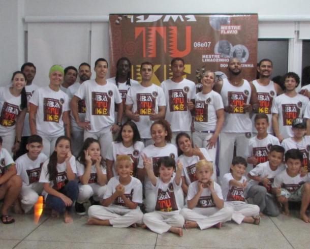 Associação Berimbau de Ouro realiza o encerramento do projeto Batukê